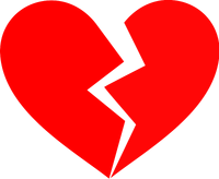 Heartbroken clipart