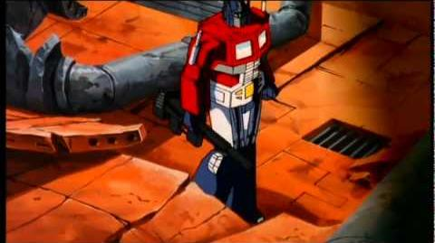 Optimus Prime vs Megatron HD Transformers The Movie 1986