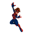 Spider-girl full body