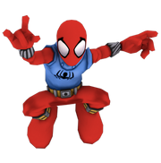 Scarlet spider full body