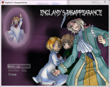 England's Disappearance