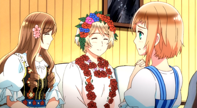 File:Hungary, Leich and Ukraine's Traditional costumes in the anime.png