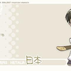 Japan character Card