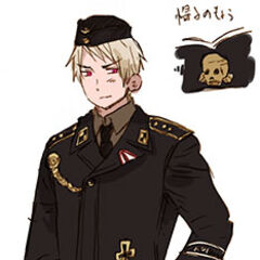 Prussia in a SS-Panzer Division uniform.