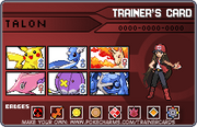 Trainercard