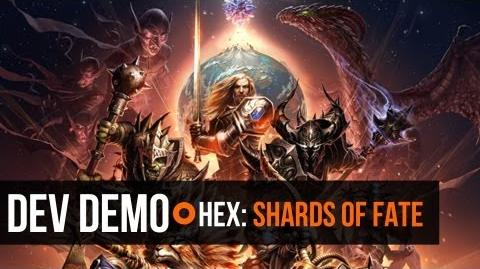 Hex Shards of Fate - Developer Demo