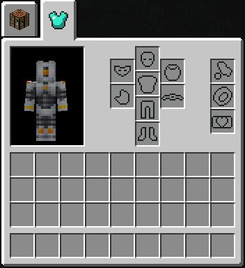 Minecraft inventory slot id