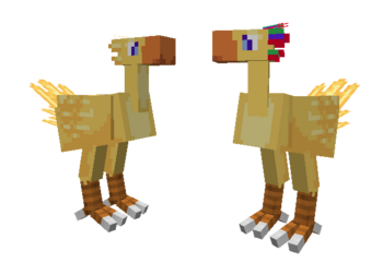 Female Male Chocobo 01