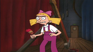 Helga works as a paintman