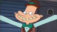 Eugene's grin