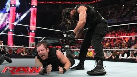 The Shield implodes Raw, June 2, 2014