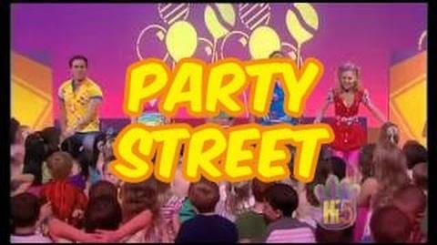 Party Street - Hi-5 - Season 9 Song of the Week