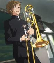Hideri Noguchi introducing his Trombone