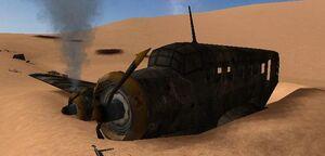 Ju 52 Tante Ju wreck (Hamada al-Hamra)
