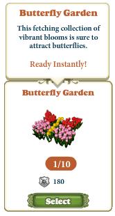 Questitem Butterfly Garden-info