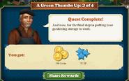 Quest Gardening Storage 3-Rewards