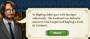 Quest Kipling's Tiger 7 Story 3