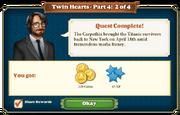 Quest Twin Hearts Part Four 2-Rewards