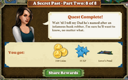 Quest A Secret Past Part Two 8 of 8-Rewards