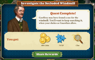 Quest Investigate the Secluded Windmill-Rewards