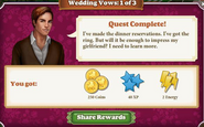 Quest Wedding Vows 1-Rewards