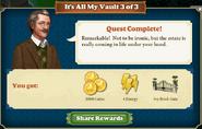 Quest It's All My Vault 3-Rewards