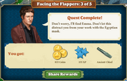 Quest Facing the Flappers 3-Rewards