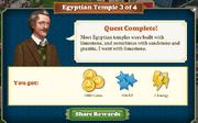 Quest Egyptian Temple 3-Rewards