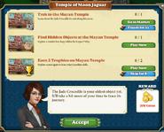 Quest Temple of Moon Jaguar-Tasks