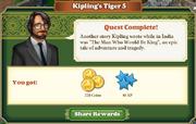 Quest Kipling's Tiger 5-Rewards