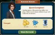 Quest Kitchen Kitsch-Rewards