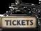 HO MidnightTrain Ticket Sign-icon