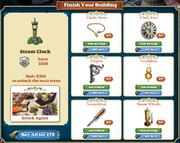 Freeitem Steam Clock-info