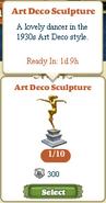 Marketplace Art Deco Sculpture-hover