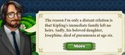 Quest Kipling's Tiger 9 Story 1