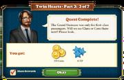 Quest Twin Hearts Part Three 3-Rewards