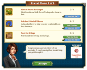 Quest Travel Plans 2-Tasks