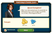 Quest Carrying A Torch 2-Rewards