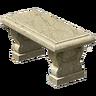 Marketplace Stone Bench-icon
