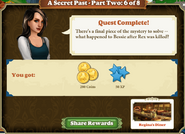 Quest A Secret Past-Part Two 6 of 8-Rewards