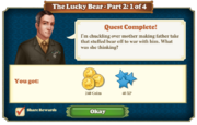 Quest The Lucky Bear Part Two 1-Rewards