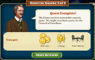 Quest Groovin'Gazebo 3-Rewards