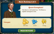 Quest Barn Raising 1-Rewards