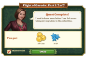 Quest Flight of Garuda Part One 7-Rewards