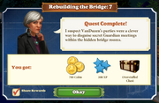 Quest Rebuilding the Bridge 7-Rewards