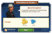 Quest Rebuilding the Bridge 5-Rewards