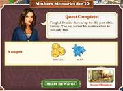 Quest Mother's Memories 8-Rewards