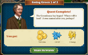 Quest Going Green 1-Rewards