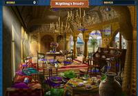 Scene Kipling's Study-Map