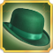 Quest Task Green Top Hat-icon